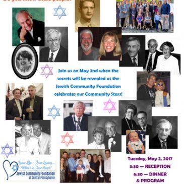 Jewish Community Foundation  Celebrates Our Community Stars
