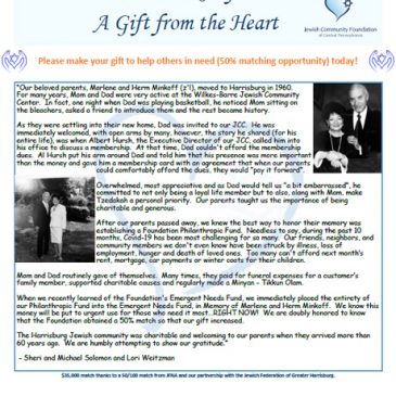 Human Service Relief A Gift from the Heart